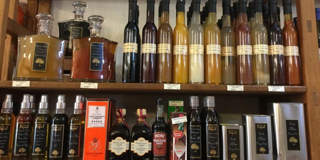 Aux mille Délices propose une sélection d'huiles et de condiments